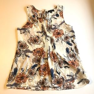 Sanctuary Floral Tank Blouse M